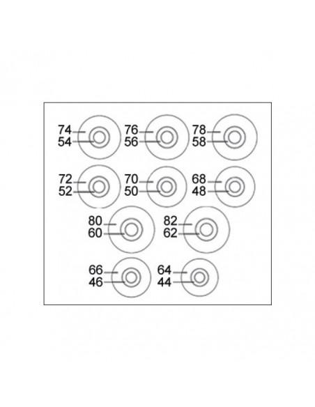 CARRO TALLER 6 CAJONES CON HERRAMIENTAS EVA, ROJO - 65Kgs