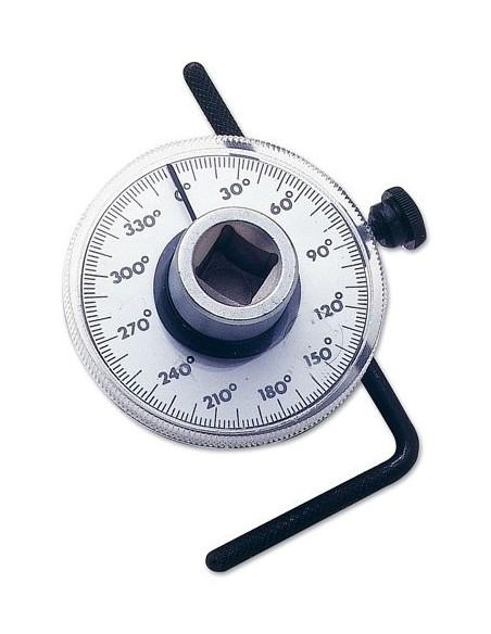 """GONIOMETRO 1/2"""" Medidor de angulo para llave dinamometrica"""